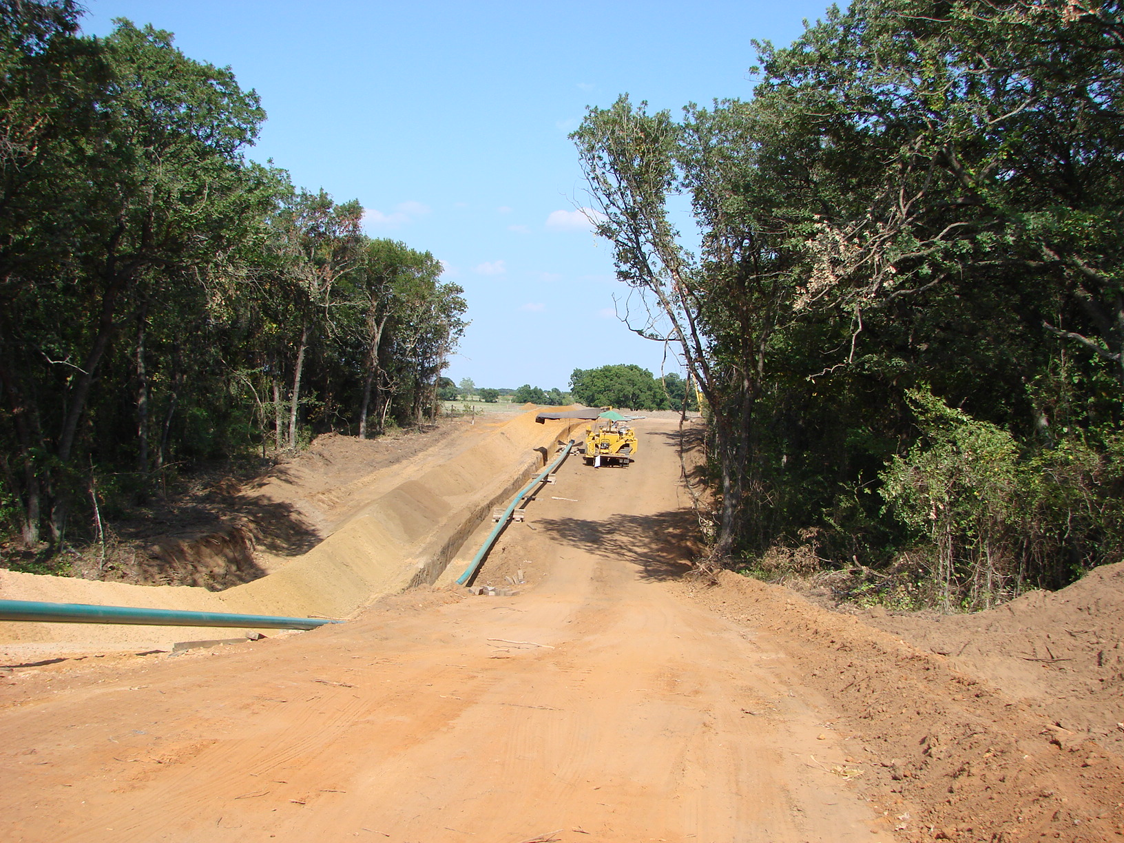 Pipeline Right of Way