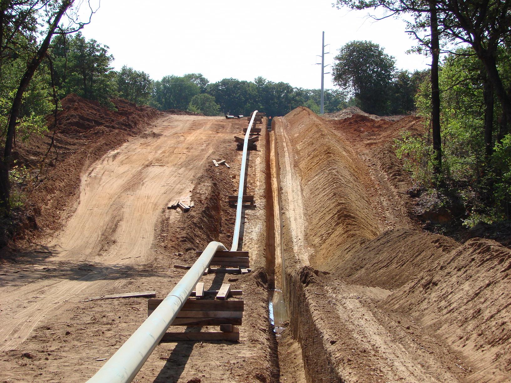 Pipeline ROW